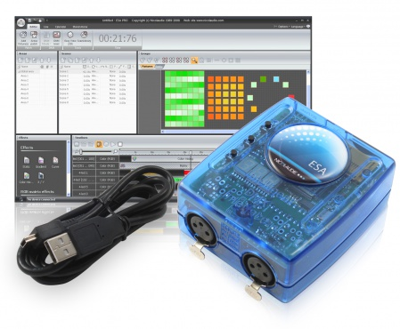 Мини USB/DMX- интерфейс SUNLITE SLESA-UE7
