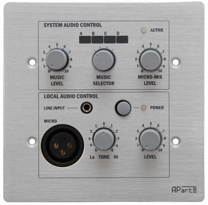 Врезная проводная панель APART PM1122RL